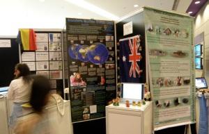 My presentation booth